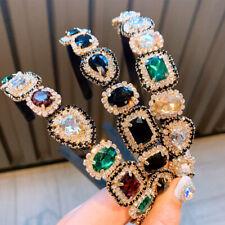 Elegant Women's Crystal Headband Hairband Wedding Hair Band Accessories Crown
