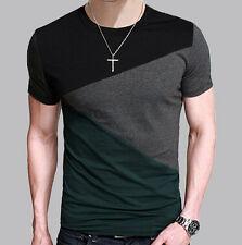 2017 Fashion Mens Casual Slim Fit Short Sleeve Polo Shirt T-shirts Tee Shirt Men