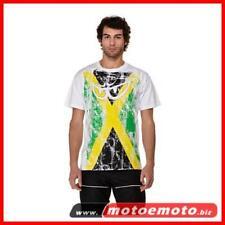 Berik T Shirt Flag Jamaica Bandiera Giamaicana Occhini Moto Moda Fashion