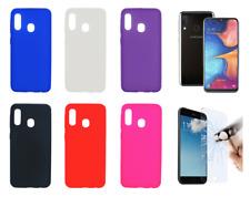 """Funda Carcasa Silicona Gel TPU Samsung Galaxy A20E 4G 5.8"""" + Protector Opcional"""