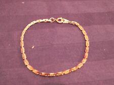 Bevan Chain Company, Genuine 14K Gold Braclet, Bonded Chain
