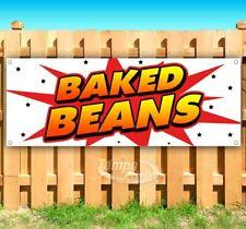 New listing Baked Beans Advertising Vinyl Banner Flag Sign Many Sizes Usa