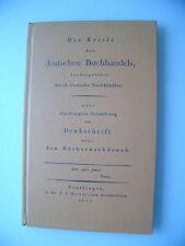 Krisis des deutschen Buchhandels Büchernachdruck 1971
