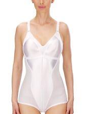 Seamless Wire Free Minimizer Bodysuit Shapewear Black White Ivory 3263 Naturana