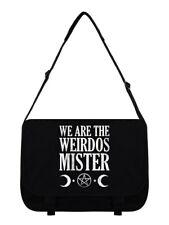 We Are The Weirdos Mister Black Messenger Bag 38x33x11cm