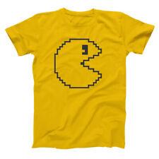 8Bit Chomp Costume Funny Set Halloween Gold Basic Men's T-Shirt