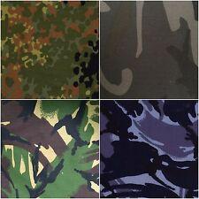 NEU Camo Camouflage Stoff Armee Militär Twill Camouflage