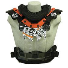 HRP Flak Jak LT IMS Orange MX Enduro Offroad Riding Chest Guard Roost Protector
