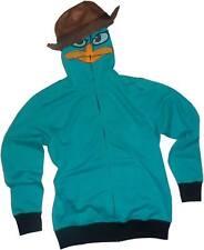 Phineas & Ferb Perry I Am P Costume Hoodie Sweatshirt