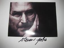 Steve Jobs Signed Photo Steven 8x10 Apple Founder Rare Autograph reprint Picture