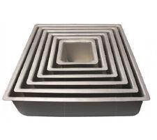 PME SQUARE Anodised Aluminium Birthday Party Cake Tray Baking Pan Tin Bakeware