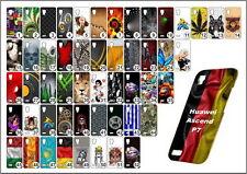 étui de portable Huawei Ascend P 7 TPU élastique étui coque Coque motifs