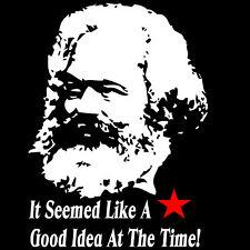 Karl Marx camiseta Gracioso Política camiseta Comunismo