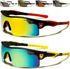 Nuevas Gafas de Sol Polarizadas Negro Para Hombre Damas Niños Deportes Diseñador Envoltura Con Espejo