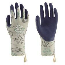 Towa Ladies Gardening Gloves Floral Herb Design Lightweight & Durable (TOW368)