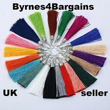 Bohemian Tassel Earrings Dangle Long Drop Tassel Fringe Trendy Fashion UK