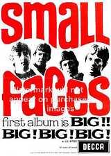 Pequeñas caras, Vintage Poster Publicitario, arte de pared, la reproducción.