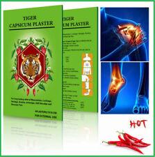 Capsicum Intonaco Tiger Caldo allevia il dolore sollievo muscolare Patch + Estratto al mentolo