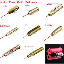 CAL.38/.45/9mm/7.62X39/.223 láser rojo latón cartucho colimador para Rifle