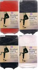 MICROFASER Legging, feine Netzoptik mit blickdichtem Rosenmuster, 36-38, div.Fb.