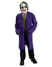 """Dark Knight Niños Disfraz De Guasón estilo 1, Grande, Edad 8 - 10, altura 4' 8"""" - 5'"""