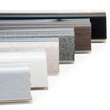 ABSCHLUSSLEISTE 37mm 1,5m  Winkelleisten Tischplatte Arbeitsplatte Küche