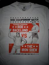 WWE Championship Match Bob Backlund Vs The Iron Sheik Wrestling T-Shirt