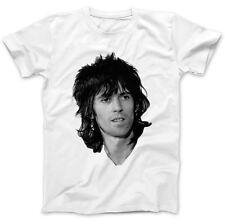 Comme porté par patti smith keith t-shirt 100% premium coton richards chevaux