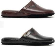 Chaleur PIERO Mens Luxury Soft Cushioned Mule Slip On Comfort Italian Slippers