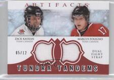 2012-13 Upper Deck Artifacts #TT-FK Zack Kassian Marcus Foligno Hockey Card