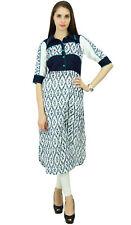 les femmes Phagun kurta vêtements tunique Kurti haut robe de coton design