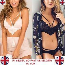 New Women Lace Floral Bralette Bralet Bra Bustier Crop Top Cami Unpadded Tank