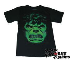 The Incredible Hulk Angry Face Marvel Comics Adult T Shirt