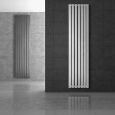 Radiatore termoarredo termosifone design verticale bianco / cromo / antracite