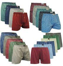 3 bis 18-er Paket Herren Boxershorts Baumwolle Übergröße 5-13 S-6XL ART.37-48