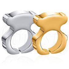 1pc Fashion Women's Fashion Jewelry Zinc Alloy Ring Gold/Silver Band Bear Ring