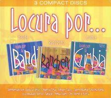 Locura Por La Banda Ranchero Cumbia 3 Disc Set (CD)