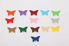 Stanzteile Schmetterlinge versch. Größen Farben Tischdeko Streuteile Kartenschmu