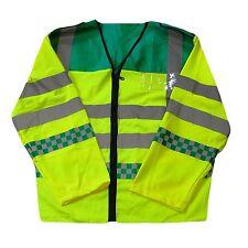 Paramédico Ambulancia De Emergencia EMT de manga larga Visibilidad Chaleco De Seguridad 6 Tamaños