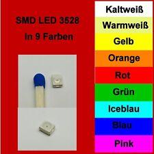SMD LED 3528 1210 in 10 verschiedenen Farben 1/10/25/50/100 Stück zur Auswahl