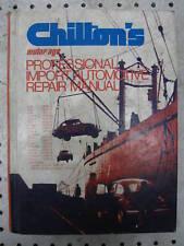 CHILTON'S IMPORT CAR REPAIR MANUAL 1970-1976 VINTAGE