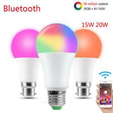 B22 E27 Bluetooth Bulb WiFi Smart LED Light Bulb Globe For Home 12W RGB Colour