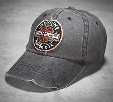 Harley Davidson Baseballcap Modell Oil Grey