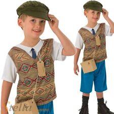 Wartime Boy Fancy Dress Costume 1940s 30s War Childrens Kids Book Outfit
