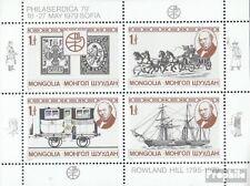 Mongolei 1230-1233 Kleinbogen (kompl.Ausg.) postfrisch 1979 Rowland Hill