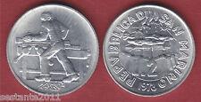 S84 SAN MARINO 2 LIRE 1978 IL FALEGNAME DA SERIE DIVISIONALE KM 77  FDC / UNC