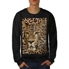 Beast Animal Leopard Men Sweatshirt NEW | Wellcoda