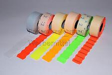 Etiketten für Preisauszeichner Etikettierer 26x16 Welle Farbe und Kleber wählbar