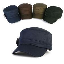 XL 2XL 61~64Cm Big Size Unisex Mens Suit Dress Hats Military Cadet Trucker Cap