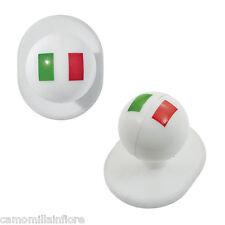 10 BOTTONI per Camice da Cuoco a fantasia YIN YANG Tricolore Italia italy POSTA